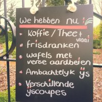 De zeute aardbei in Terlinden